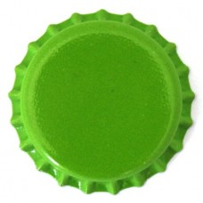 Bottle Caps - Green x 500