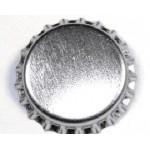 Bottle Caps - Silver x 100